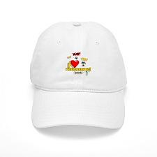 I Heart Interjections Baseball Cap