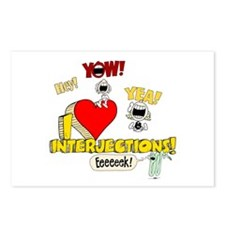 I Heart Interjections Postcards (Package of 8)
