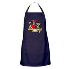 I Heart Interjections Apron (dark)