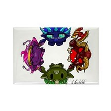 Chaos Gods Rectangle Magnet
