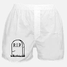 R.I.P. - Gravestone Boxer Shorts