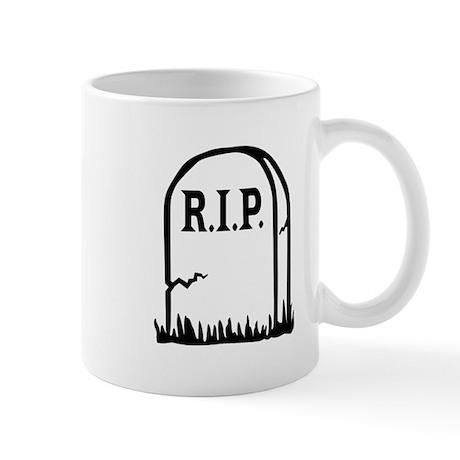R.I.P. - Gravestone Mug