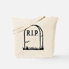 R.I.P. - Gravestone Tote Bag