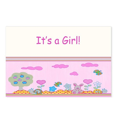 It's a Girl! Postcards (Package of 8)