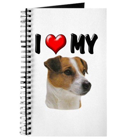 I Love My Jack Russell Journal