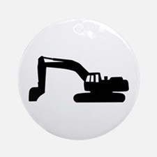 Digger Ornament (Round)