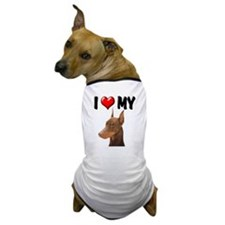 I Love My Doberman Dog T-Shirt