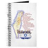 Israel Journals & Spiral Notebooks