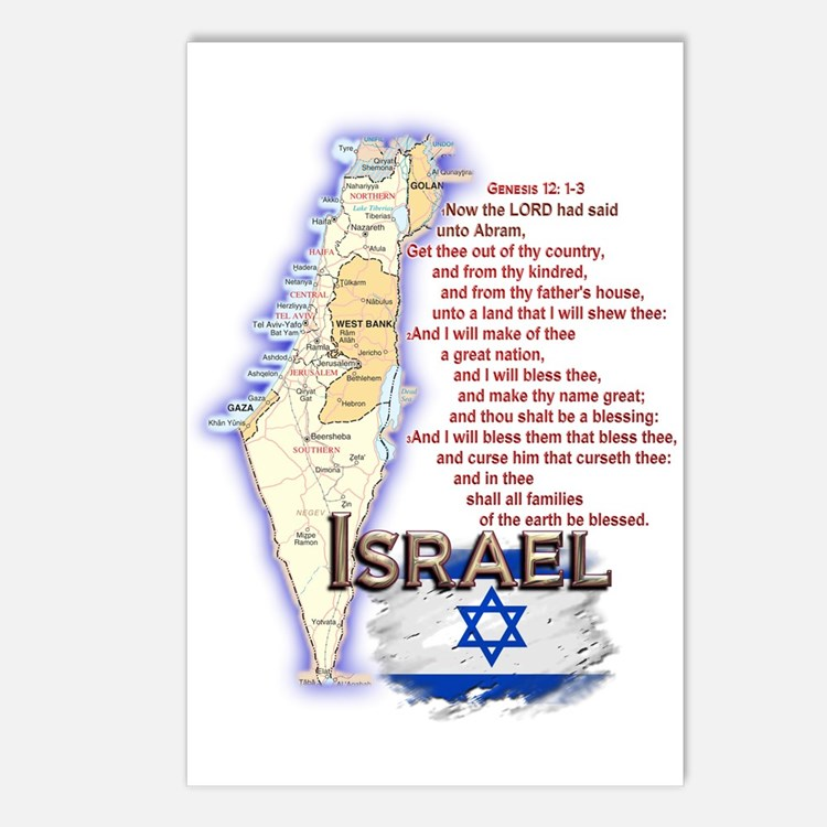 Gen 12: 1-3 Postcards (Package of 8)