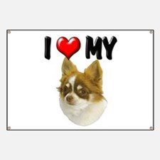 I Love My Chihuahua Banner