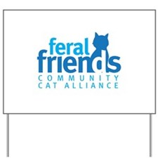 Feral Friends 2010 Logo Yard Sign