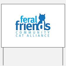 Feral Friends 2010 Logo Yard Sign