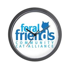Feral Friends 2010 Logo Wall Clock