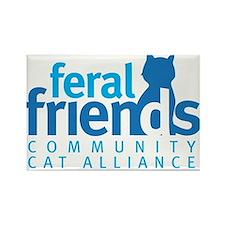 Feral Friends 2010 Logo Rectangle Magnet