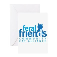 Feral Friends 2010 Logo Greeting Card