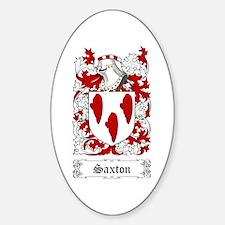 Saxton Decal