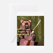 Arm Bears Greeting Card