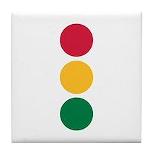 Traffic Light Tile Coaster