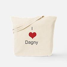 I heart Dagny Tote Bag