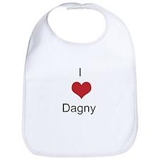 I heart Dagny Bib