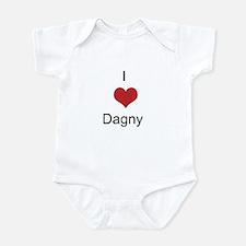 I heart Dagny Infant Bodysuit