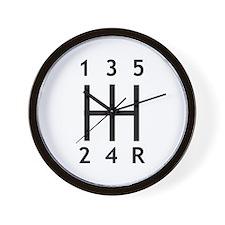 Car - Gearshift Wall Clock