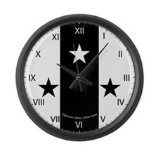 Meridies Populace Badge Large Wall Clock