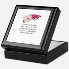 Cute Friendship Keepsake Box