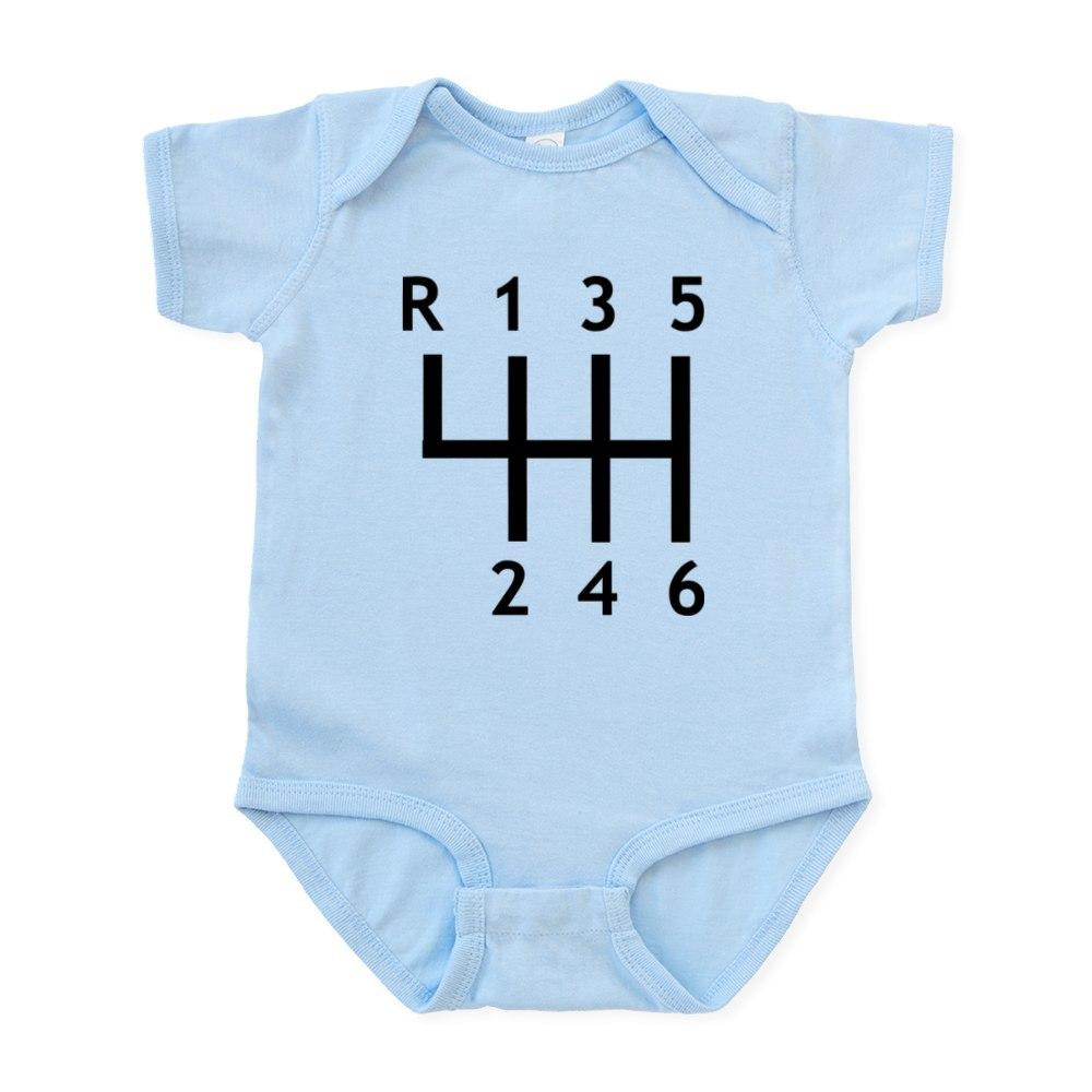 CafePress Gearshift Race Infant Bodysuit Baby Bodysuit 459379140