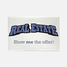 Real Estate / Offer Rectangle Magnet