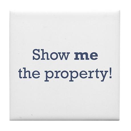 Show me the Property Tile Coaster