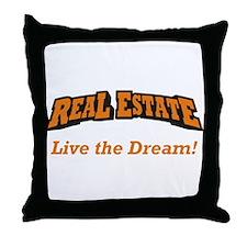 Real Estate / Dream Throw Pillow