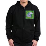 Decorative Muff Gamecock Zip Hoodie (dark)