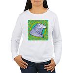 Decorative Muff Gamecock Women's Long Sleeve T-Shi
