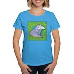 Decorative Muff Gamecock Women's Dark T-Shirt