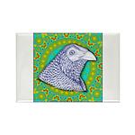 Decorative Muff Gamecock Rectangle Magnet (100 pac