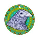 Decorative Muff Gamecock Ornament (Round)