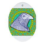 Decorative Muff Gamecock Ornament (Oval)