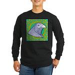 Decorative Muff Gamecock Long Sleeve Dark T-Shirt