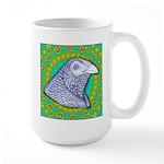 Decorative Muff Gamecock Large Mug