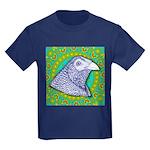 Decorative Muff Gamecock Kids Dark T-Shirt