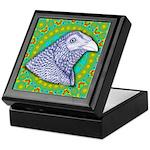 Decorative Muff Gamecock Keepsake Box