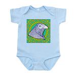 Decorative Muff Gamecock Infant Bodysuit