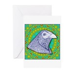 Decorative Muff Gamecock Greeting Cards (Pk of 10)