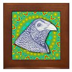 Decorative Muff Gamecock Framed Tile