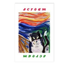 Kitty Scream Postcards (package Of 8)
