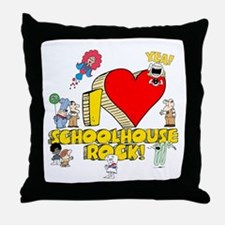 I Heart Schoolhouse Rock! Throw Pillow