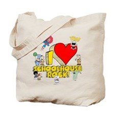 I Heart Schoolhouse Rock! Tote Bag