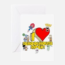 I Heart Schoolhouse Rock! Greeting Card