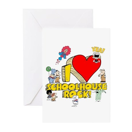 I Heart Schoolhouse Rock! Greeting Cards (Pk of 10